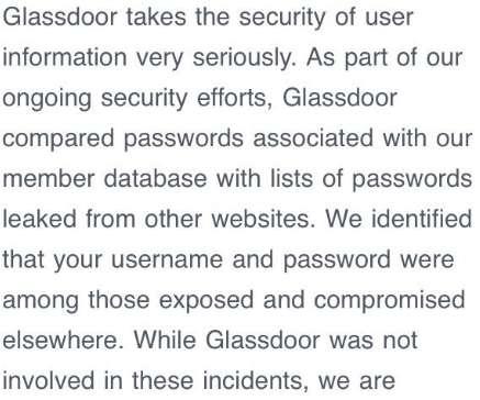 Passwords - Information Management Today